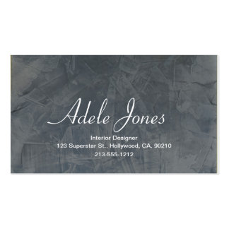 Slate Business Card Business Card