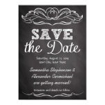 Slate Chalkboard Save the Date Invites