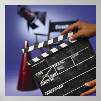 Slate de director posters