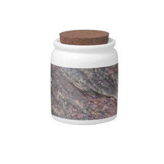 Slate el tarro de cerámica decorativo de 6A Widemo Jarra Para Caramelo