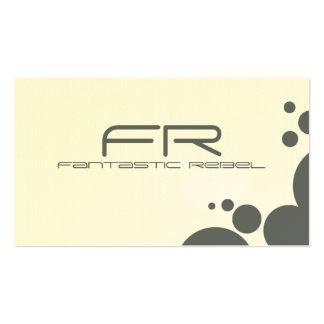 Slate Fantastic Rebel Business Cards