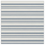 [ Thumbnail: Slate Gray and Beige Colored Lines Fabric ]