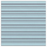 [ Thumbnail: Slate Gray and Light Blue Colored Pattern Fabric ]