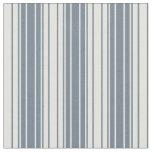 [ Thumbnail: Slate Gray and Light Cyan Lines Fabric ]