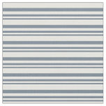 [ Thumbnail: Slate Gray and Mint Cream Colored Lines Fabric ]