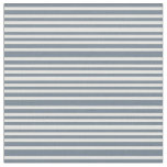 [ Thumbnail: Slate Gray and Mint Cream Colored Lines Pattern Fabric ]