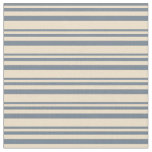 [ Thumbnail: Slate Gray and Tan Striped/Lined Pattern Fabric ]