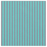 [ Thumbnail: Slate Gray and Turquoise Colored Pattern Fabric ]