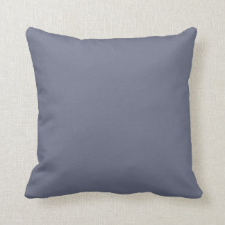 Slate Gray Background Pillow