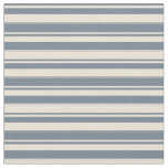 [ Thumbnail: Slate Gray & Bisque Striped Pattern Fabric ]