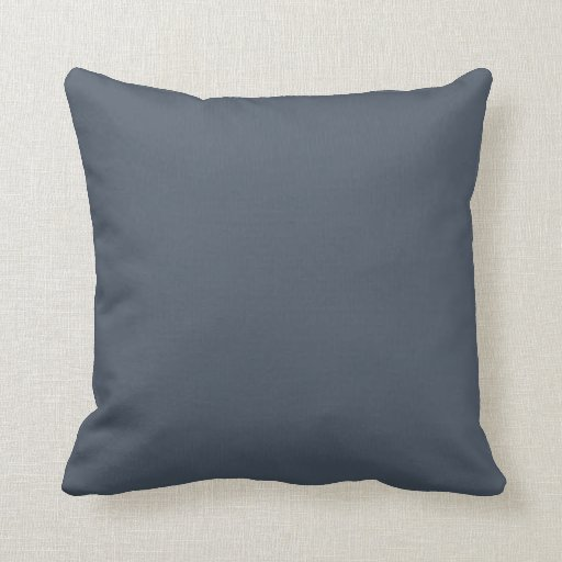 Slate Gray Couch Pillow Gift