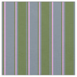 [ Thumbnail: Slate Gray, Dark Olive Green, and Plum Colored Fabric ]