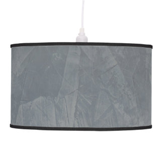 Slate Gray Faux Finish Lamps