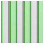 [ Thumbnail: Slate Gray, Forest Green, Green, Lavender & Black Fabric ]