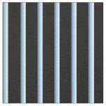 [ Thumbnail: Slate Gray, Light Sky Blue, Lavender, and Black Fabric ]