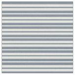 [ Thumbnail: Slate Gray & Mint Cream Colored Pattern Fabric ]