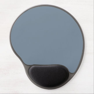 Slate Gray Solid Color Gel Mouse Pad