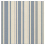[ Thumbnail: Slate Gray & Tan Colored Pattern Fabric ]