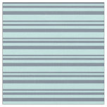 [ Thumbnail: Slate Gray & Turquoise Colored Lines Fabric ]