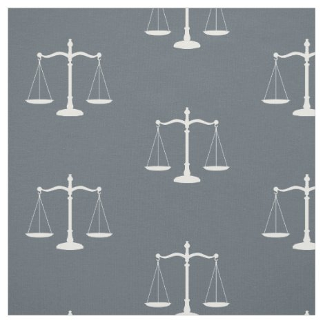 Slate Grey Solid Law Scales Fabric