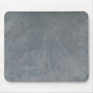 Slate Grey Venetian Plaster Mouse Pad
