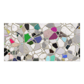 slate mosaic path card