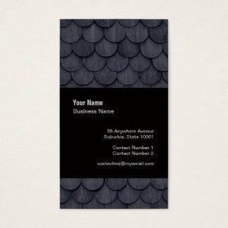 Slate Roof Tiler Slater Template Business Card