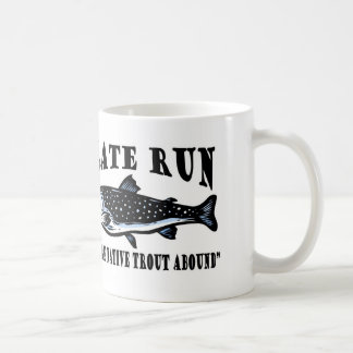 Slate Run Trout Fly Fishing Coffee Mug