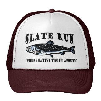 Slate Run Trout Fly Fishing Trucker Hat