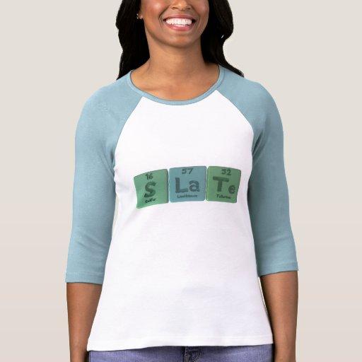 Slate-S-La-Te-Sulfur-Lanthanum-Tellurium.png Camiseta