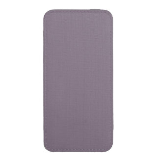 SLATE (solid light inky color) ~ iPhone 5 Pouch