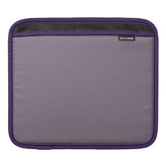 SLATE (solid light inky color) ~ Sleeve For iPads