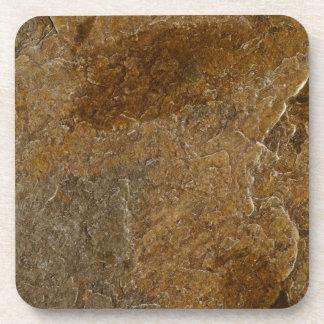 Slate Stone Background - Customized Template Blank Beverage Coaster