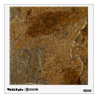 Slate Stone Background - Customized Template Blank Wall Sticker