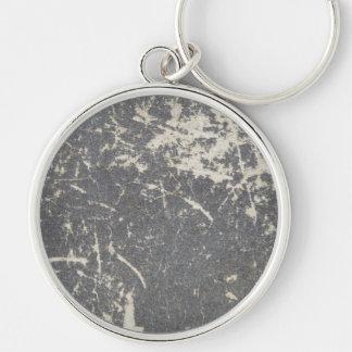 Slate, Stone, Granite Keychain
