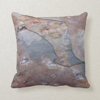Slate Styled Throw Pillow