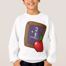Slateboard and Apple Sweatshirt