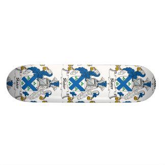 Slater Family Crest Skate Board Deck