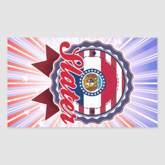 Slater, MO Sticker