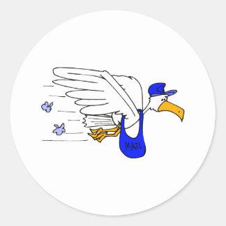 Slater Stork Stickers