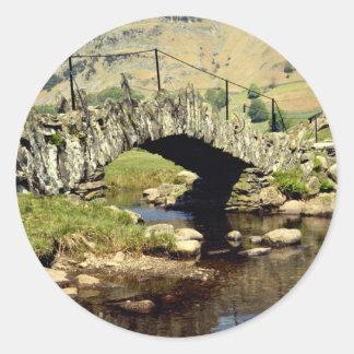 Slaters Bridge, Little Langdale, Cumbria, England Stickers