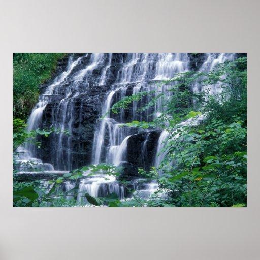 Slatestone Falls Sunderland MA Print
