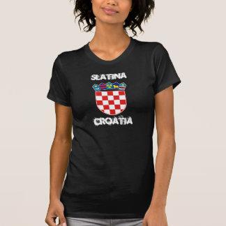 Slatina, Croatia with coat of arms T-Shirt