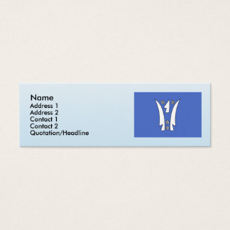 Slatina, Czech Mini Business Card