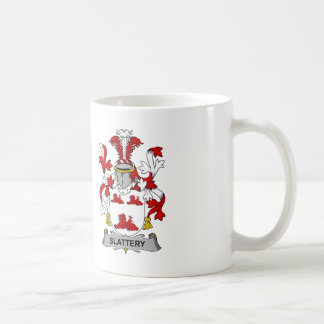 Slattery Family Crest Coffee Mug