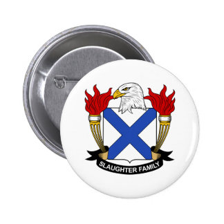 Slaughter Family Crest Pin