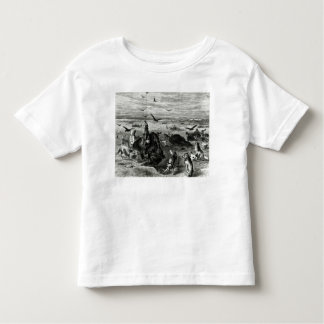Slaughter of Buffaloes on the Plains T Shirt