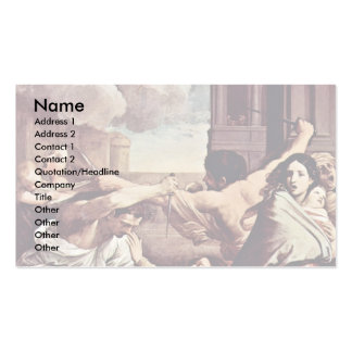 Slaughter Of The Innocents,  By Reni Guido Business Card Templates