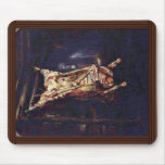 Slaughtered Ox By Rembrandt Harmensz. Van Rijn (Be Mouse Pad