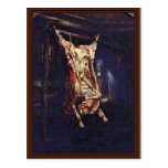 Slaughtered Ox By Rembrandt Harmensz. Van Rijn (Be Postcard